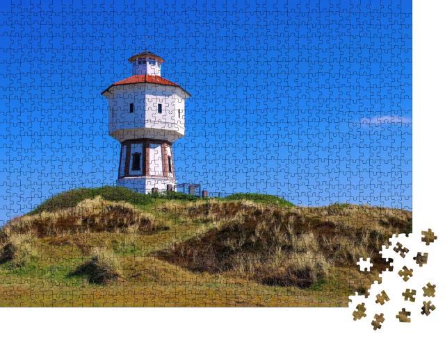 """Puzzle 1000 Teile """"Wasserturm von Langeoog"""""""