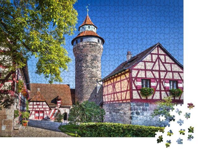 "Puzzle 1000 Teile ""Nürnberger Burg"""