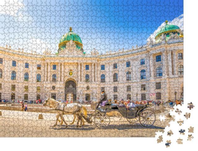 """Puzzle 1000 Teile """"Alte Hofburg, Wien, Österreich"""""""