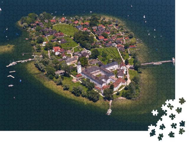 """Puzzle 1000 Teile """"Fraueninsel im Chiemsee, Deutschland"""""""
