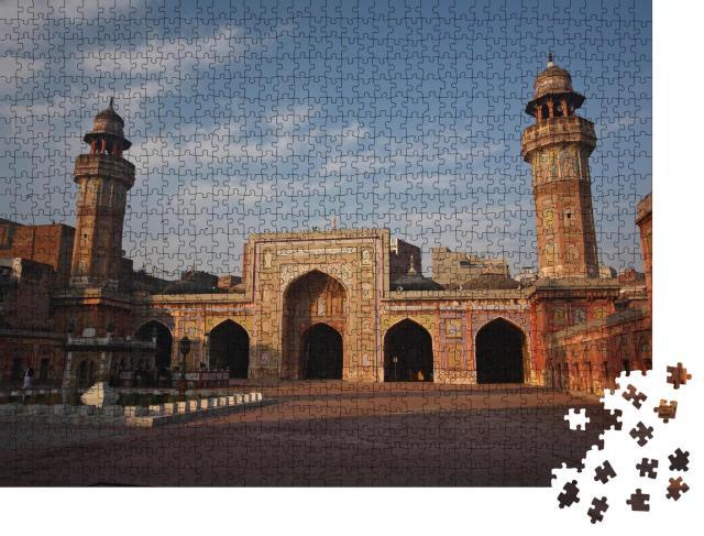 """Puzzle 1000 Teile """"Architektur der Masjid Wazir Khan, Lahore"""""""