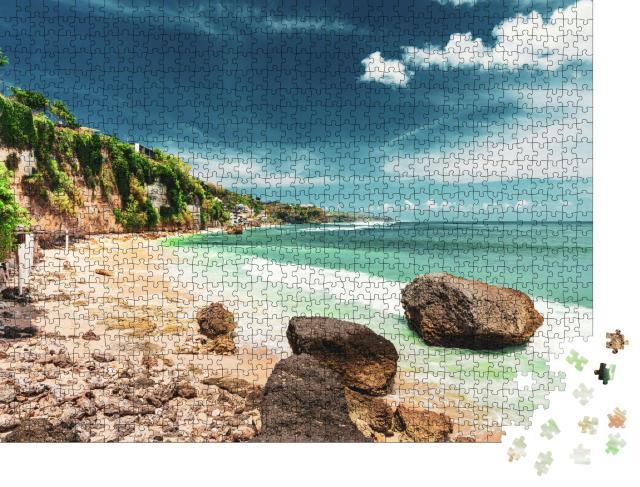 """Puzzle 1000 Teile """"Beeindruckende Küste auf Bali, Indonesien"""""""