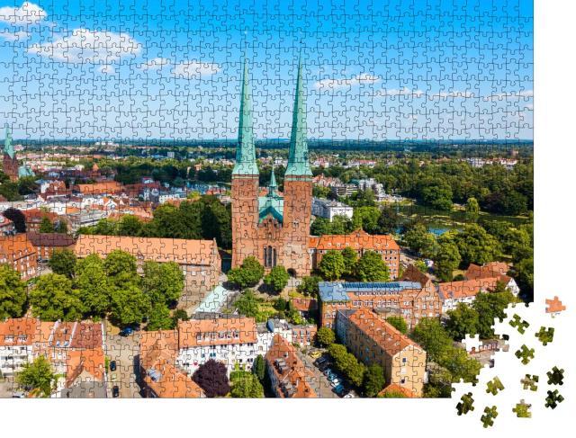 """Puzzle 1000 Teile """"Der Lübecker Dom"""""""