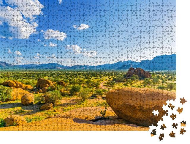 """Puzzle 1000 Teile """"Erongo-Gebirge in Namibia"""""""