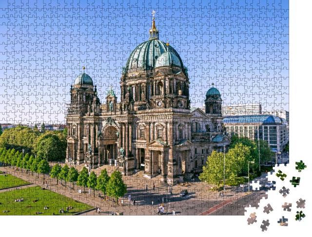 """Puzzle 1000 Teile """"Imposanter Berliner Dom, Deutschland"""""""