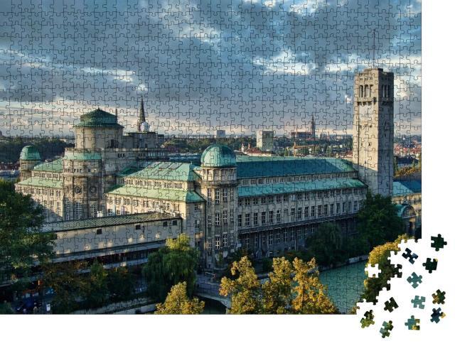 """Puzzle 1000 Teile """"Deutsches Museum: Wissenschaft und Technik, München, Deutschland"""""""
