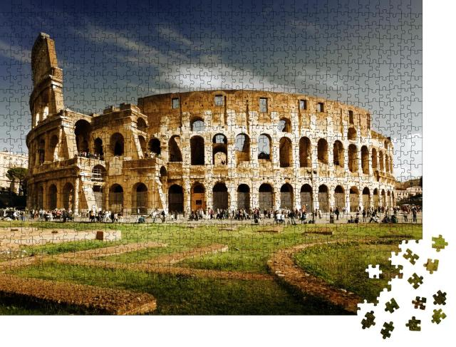 """Puzzle 1000 Teile """"Kolosseum in Rom"""""""