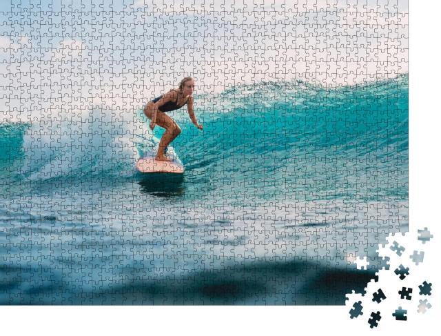 """Puzzle 1000 Teile """"Die perfekte Welle"""""""