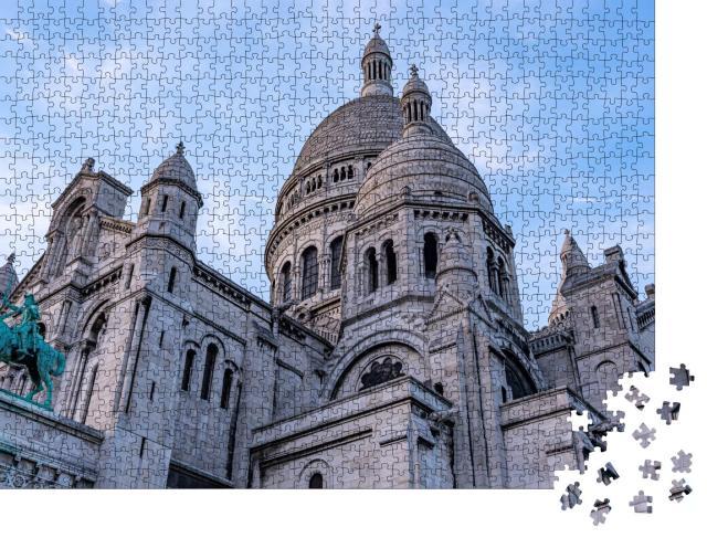"""Puzzle 1000 Teile """"Basilika Sacré-Coeur, Paris, Frankreich"""""""