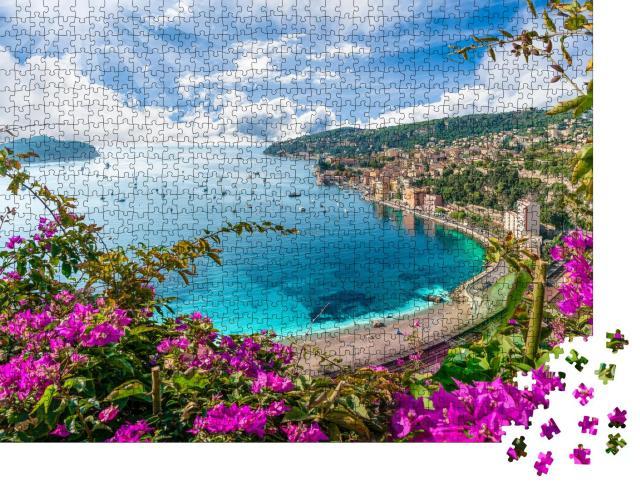 """Puzzle 1000 Teile """"Villefranche sur Mer, Region Nizza, Frankreich"""""""