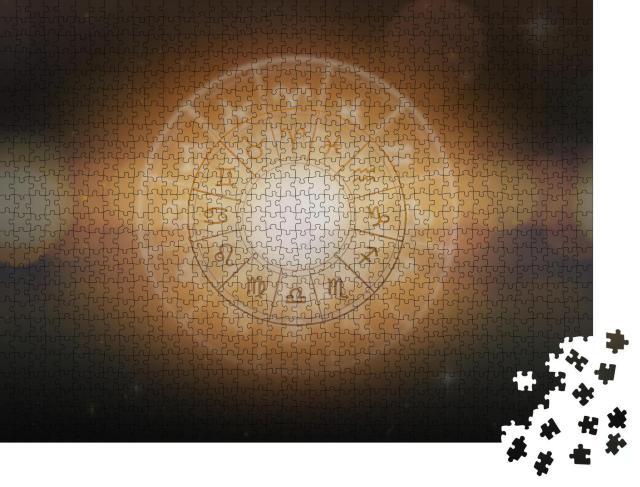 """Puzzle 1000 Teile """"Horoskop, Astrologie, Sternzeichen"""""""