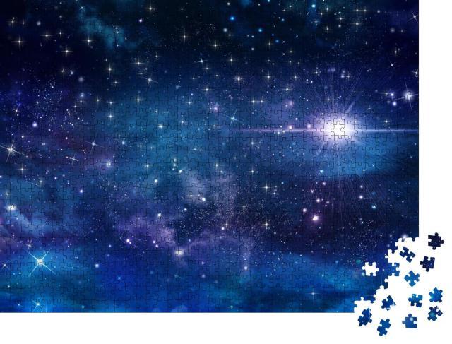 """Puzzle 1000 Teile """"Nachthimmel mit Sternen"""""""