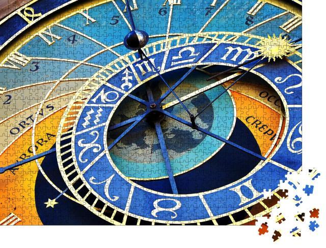 """Puzzle 1000 Teile """"Wunderschöne Prager Astronomische Uhr in der Altstadt von Prag"""""""