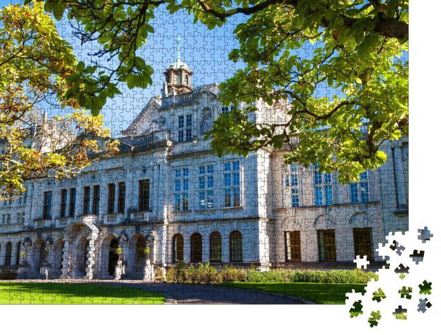 """Puzzle 1000 Teile """"Universität Cardiff, Wales, UK"""""""