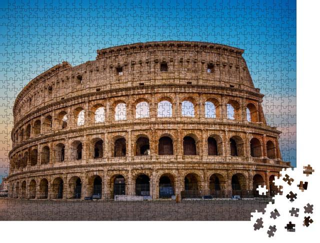 """Puzzle 1000 Teile """"Kolosseum in Rom, Gebäude aus der Antike, Italien"""""""