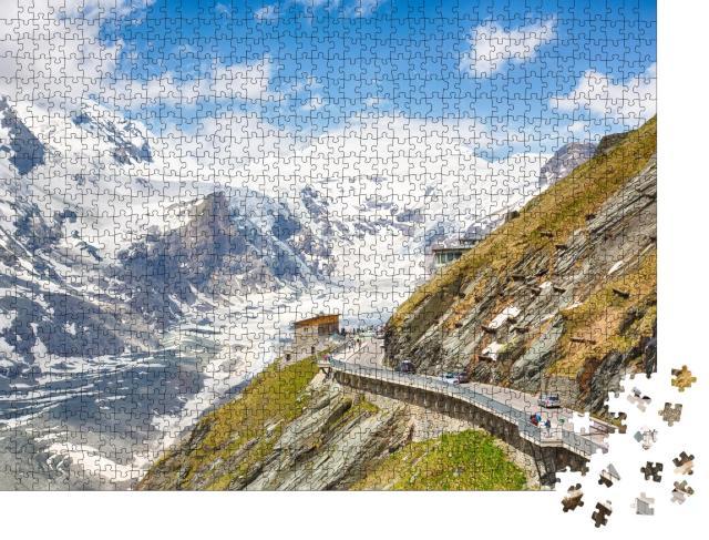 """Puzzle 1000 Teile """"Majestätischer Großglockner, Tirol, Österreich"""""""