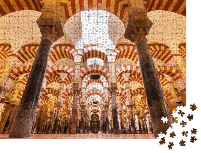 """Puzzle 1000 Teile """"Kathedrale und ehemalige Große Moschee von Cordoba"""""""