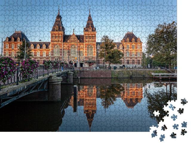 """Puzzle 1000 Teile """"Das Rijksmuseum in Amsterdam, Niederlande"""""""