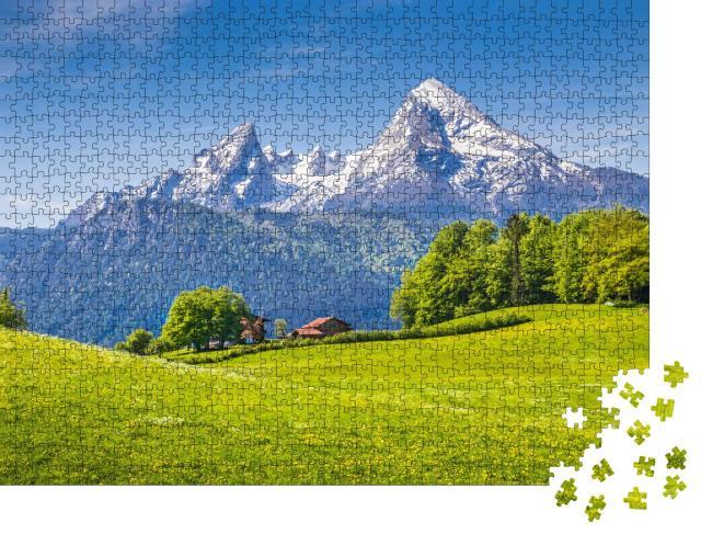 """Puzzle 1000 Teile """"Nationalpark Berchtesgadener Land, Bayern, Deutschland"""""""