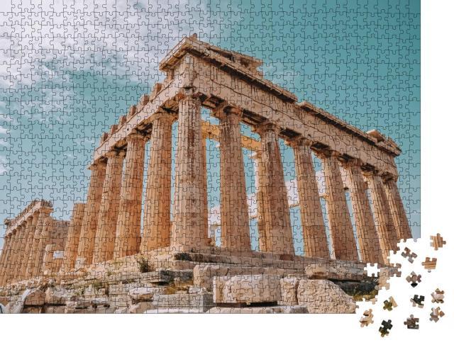 """Puzzle 1000 Teile """"Parthenon ist ein ehemaliger Tempel auf der Akropolis, Athen"""""""