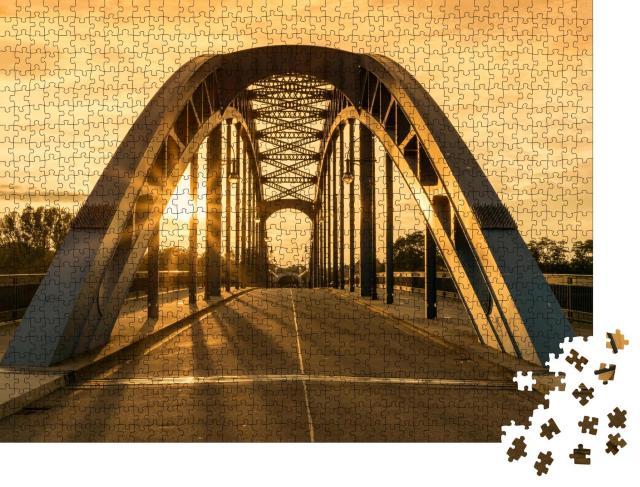 """Puzzle 1000 Teile """"Sternbrücke, Magdeburg, Deutschland"""""""