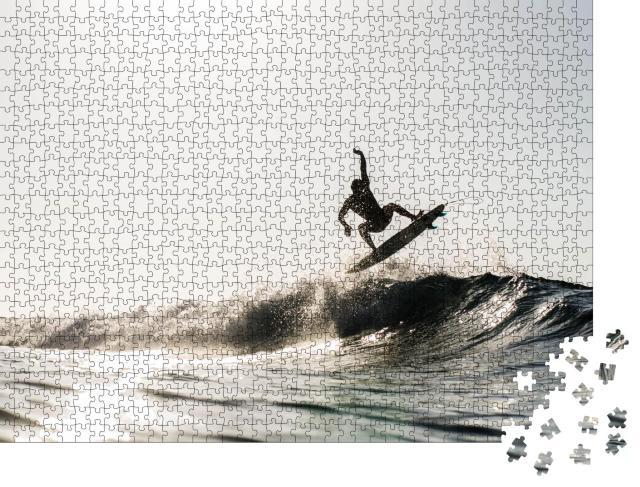 """Puzzle 1000 Teile """"Lifestyle Surfen"""""""