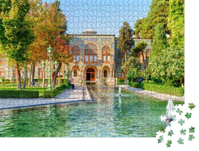 "Puzzle 1000 Teile ""Golestan-Palast in Teheran"""