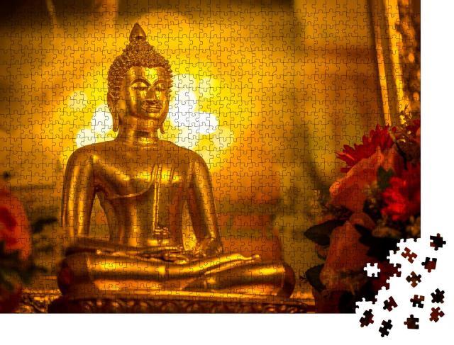 """Puzzle 1000 Teile """"Ein Buddha"""""""